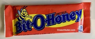 Pearson Bit-O-Honey Candybar mit Mandeln und etwas Honig