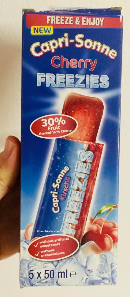 Capri-Sonne Cherry Freezies Lutscheis