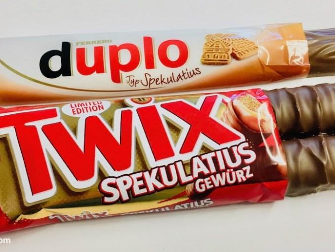 Duplo und Twix Spekulatius