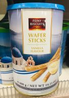 Feiny Bicuits Wafer Sticks Vanilla Flavour