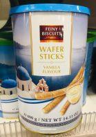 Feiny Bicuits Wafer Sticks Vanilla Flavour