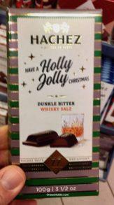 Hachez Holly Jolly Dunkle Bitter Whisky Salz