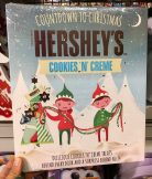 Hersheys Countdown to Christmas Cookies n Creme Adventskalender