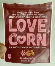 Love Corn Snack smoked bbq