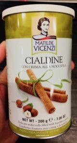 Matilde Vicenzi Cialdine con crema alla nocciola Waffelröllchen mit Nougatcreme