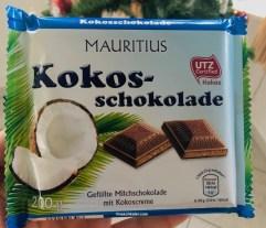 Mauritius Kokos-Schokolade 200g UTZ