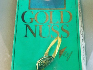 Novesia Goldnuss Tafelschokolade aus Neuss