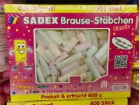 Sadex Brause-Stäbchen Das Original 400 Gramm