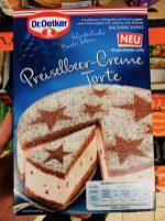 Dr Oetker Preiselbeer-Creme Torte Backmischung