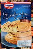 Dr Oetker Typ Zimtschnecken Kuchen Backmischung