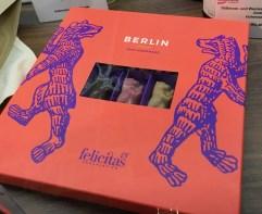 Felicitas Schokoladen-Bären im schicken Karton gesehen auf der IGW Berlin 2019