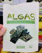 Hacendado Algas Con Arroz Crujiente