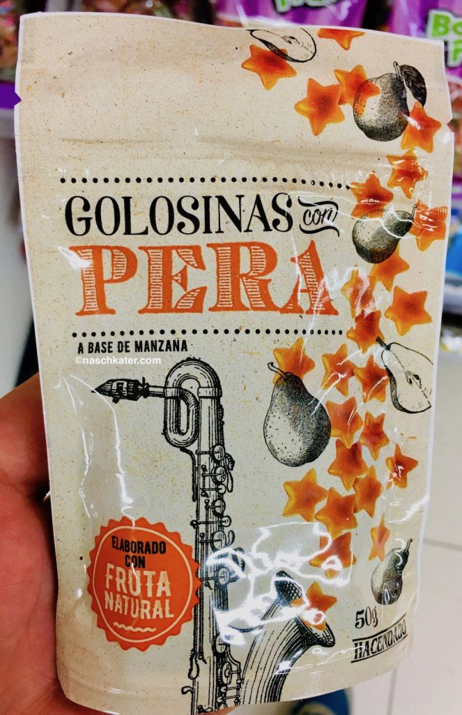 Hacendado Golosinas con Pera Weingummi mit Birnengeschmack