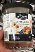 Lidl Deluxe Toffee-Creme Karamellgeschmack Brotaufstrich