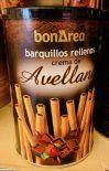 BonArea Waffelröllchen barquillos rellenos crema de Auellana