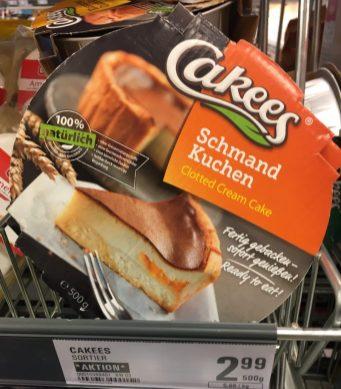 Cakees Haltbarer Schmand-Kuchen 500 Gramm