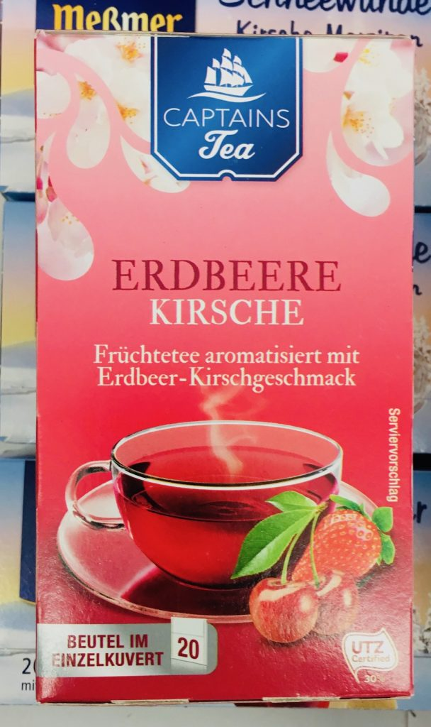 Captains Tea Erdbeere Kirsche