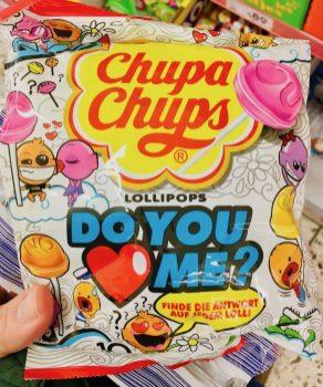 Chupa Chups Süßigkeiten Do you Love me Lollies