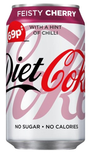 Coke Diet Feisty Cherry with a Hint of Chilli Dose