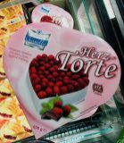 Cristallo Herz-Torte Himbeere Tiefkühl
