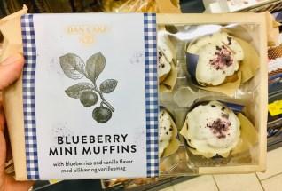 Dan Cake Blueberry Mini Muffins haltbare Kuchen