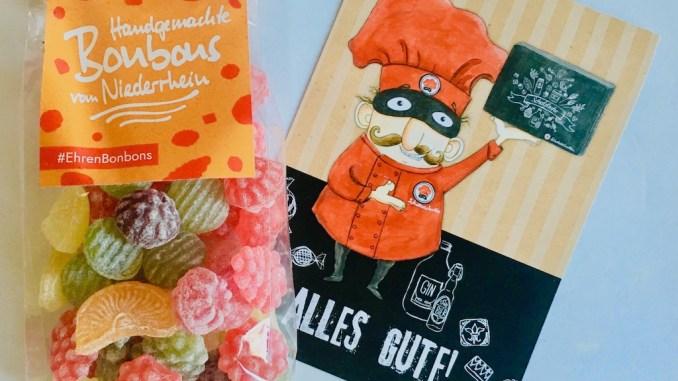 EhrenBonbons Handgemachte Bonbons mit Karte