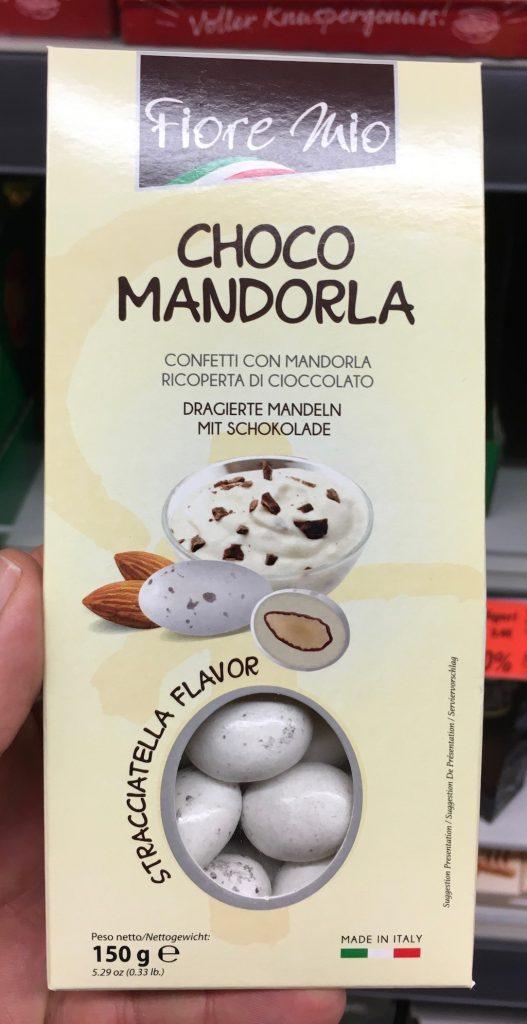 Fiore Mio Choco Mandorla Confetti Mandeln Stracciatella Flavor