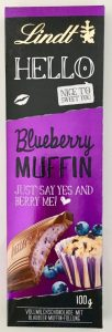 Lindt Hello Blueberry Muffin 100G