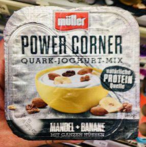 Müller Power Corner Quark-Joghurt-Mix Mandel+Banane Natürliche Proteinquelle