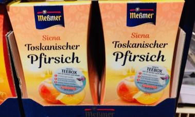 Messmer Siena Toskanischer Pfirsich Tee