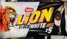Nestle Lion BlackWhite Limited Edition