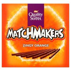 Quality Street Matchmakers Sticks Zingy Orange 130 Gramm