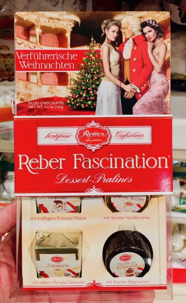 Reber Fascination Dessert-Pralinen Weihnachten 2018