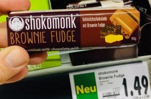 Shokomonk Brownie Fudge 50 Gramm
