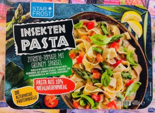 StarFrost InsektenPasta Zitrone-Tomate Grüner Spargel Mehlwurmmehl