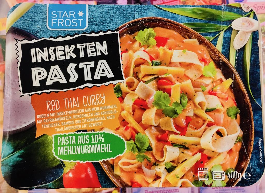 StarFrost Insektenpasta Red Thai Curry
