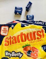 Starburst Very Berry Blueberry Kaubonbons