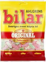 Schwedisches Marshmallow in Fischform: Ahlgrens Bilar.