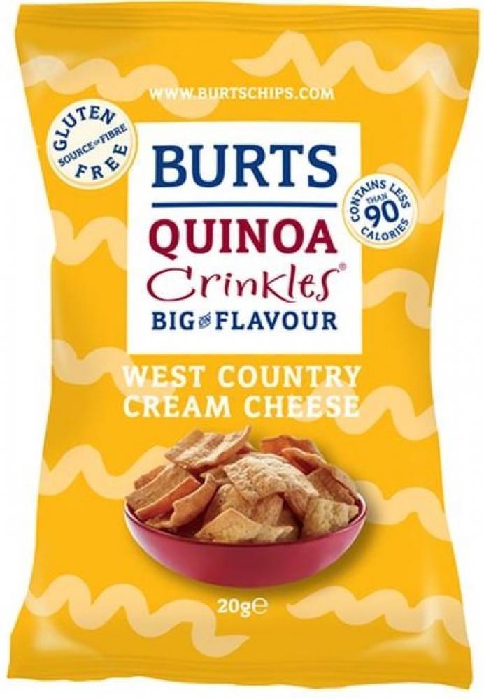 Quinoa Crinkler mit Cream Chesse-Geschmack von Burts