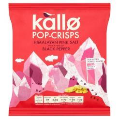 Kallo Pop-Crisps mit dem Geschmack des Himalaya-Salzes. (Schmeckt die Herkunft vom Salz raus?!)