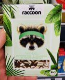 raccoon Mandel Bio Protein Choc 22% Protein mit Kokosblütenzucker Bio-Schokolade