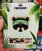racoon Mandel Bio Protein Choc 22% Protein mit Kokosblütenzucker Bio-Schokolade
