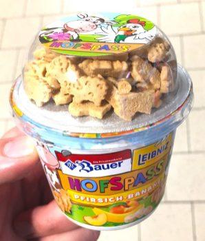 Bauer Leibniz Hofspass Pfirsich-Banane Joghurt