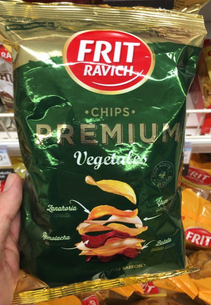 Frit Ravich Chips Premium Vegetales Gemüsechips