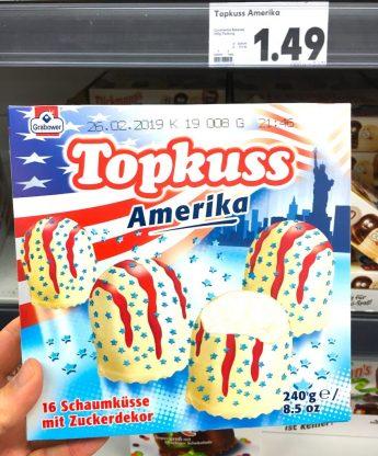 Grabower Topkuss Amerika