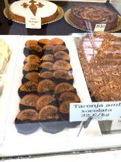 Taronja Xocolata Schokolierte Orangenscheiben Spanien