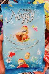 Kannte ich noch nicht: Noggy-Nougateier von Ferrero.