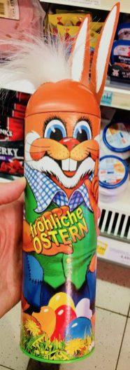 Osterhasen-Wurst in der Dose