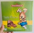 Pischinger Frohe Ostern Vollmilch-Schokolade mit Nusskrokant