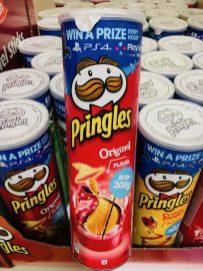 Pringles-Sorten mit Original jetzt mit 200 Gramm April 2019